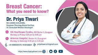Breast Cancer Awareness | Dr. Priya Tiwari