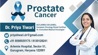 Prostate Cancer in English | Dr. Priya Tiwari | Medical Oncologist