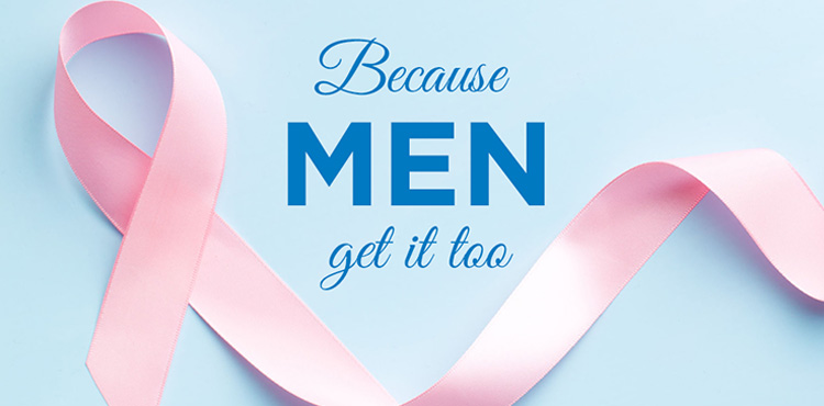 Do males have breast cancer ?